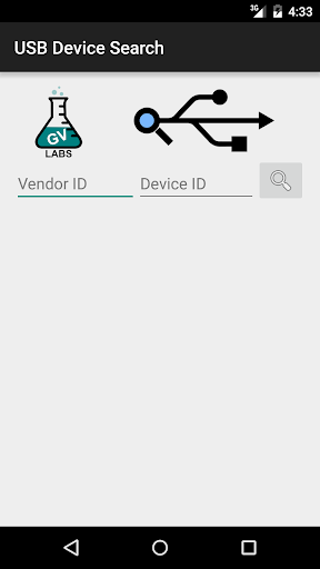 USB Device Search