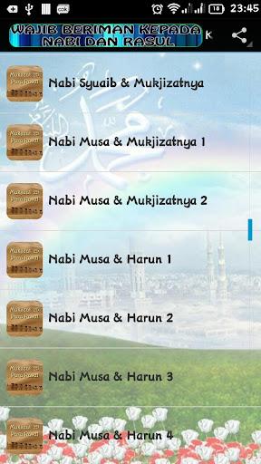 Mukjizat Para Nabi & Rasul screenshots apkspray 14
