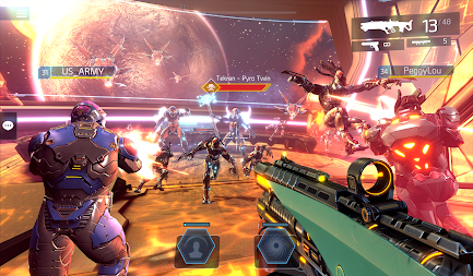 SHADOWGUN LEGENDS - FPS PvP Free Shooting Games APK screenshot thumbnail 24