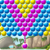 Bubble Beach Frenzy