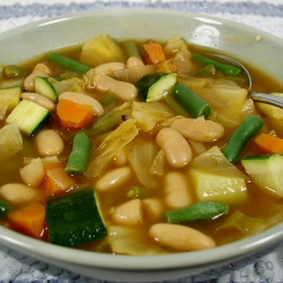 Garden Vegetable and Bean Soup