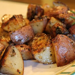 Rosemary Grilled Red Potatoes.
