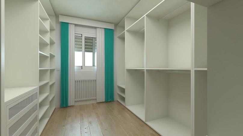 Garderoba w osobnym pomieszczeniu