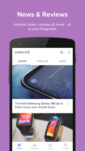 Updates for Samsung - Android Update Versions screenshot