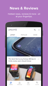 Updates for Samsung and Android