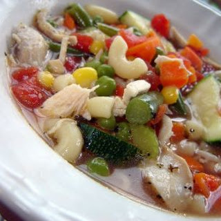Healthy Vegetable Minestrone Soup