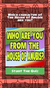 Who Are You In House Of Anubis 2