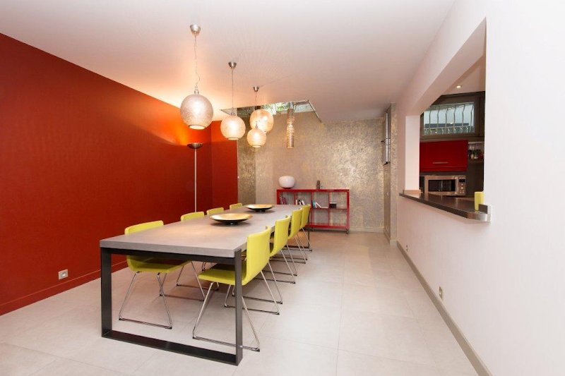 Dining area at 5 bedroom Triplex Apartment in Ave Foch