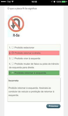 Placas de Transito CNH - screenshot