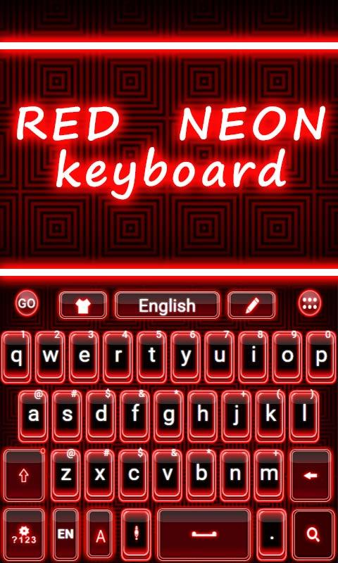 Red-Neon-GO-Keyboard-Theme 7