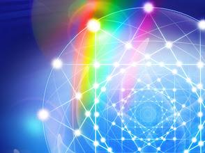Photo: red de triángulos y energías