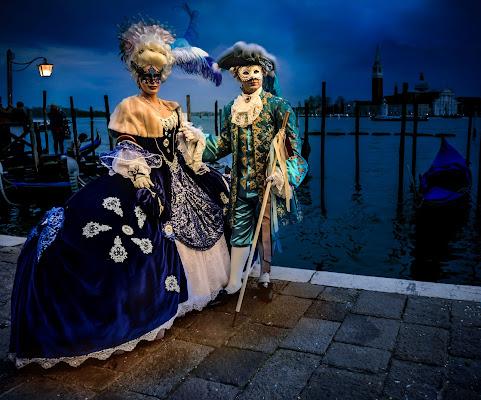 Coppia di nobili a Venezia di Diana Cimino Cocco