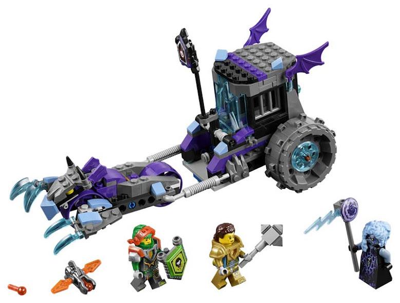 Contenido de Lego® 70349 Rodillo Triturador de Ruina