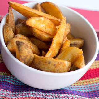 Seasoned Baked Potato Wedges