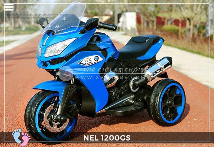 Moto điện 3 bánh cho bé NEL-1200GS 15