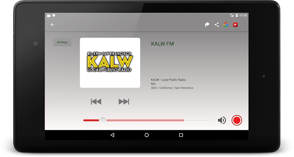 RadioNet Radio Online Screenshot