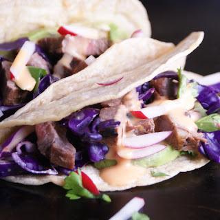Asian Steak Tacos