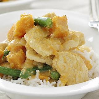 Butternut Squash and Chicken Korma