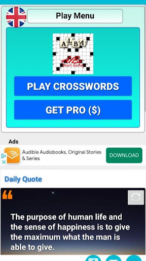 Crossword Puzzles simplified, Word Games screenshots 1