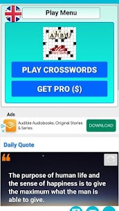 Crossword Puzzles for everyone, Easy Word Games 1