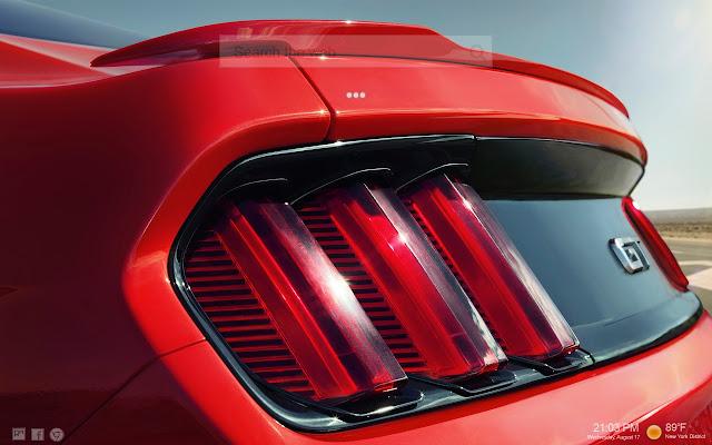 Mustang Car HD Wallpapers NewTab
