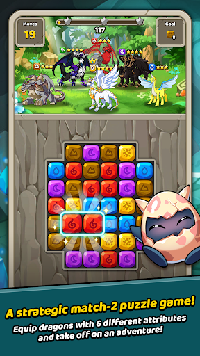 Dragon Village B - Dragon Breeding Puzzle Blast 1.1.4 screenshots 2