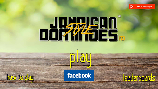 Jamaican Style Dominoes Pro