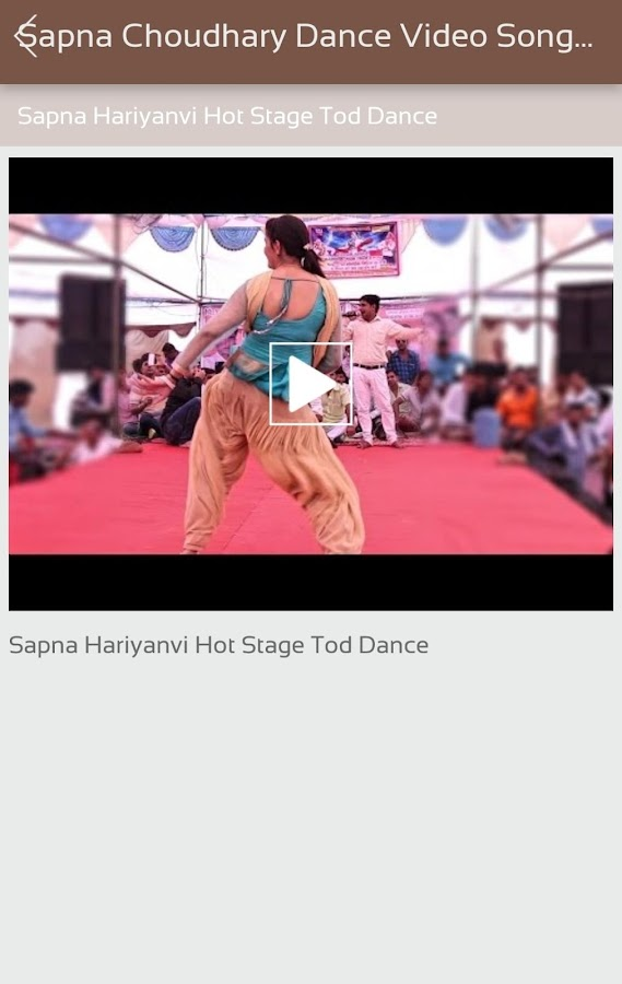 Sapna Choudhary Dance Video Songs (Sapna Dancer)- screenshot