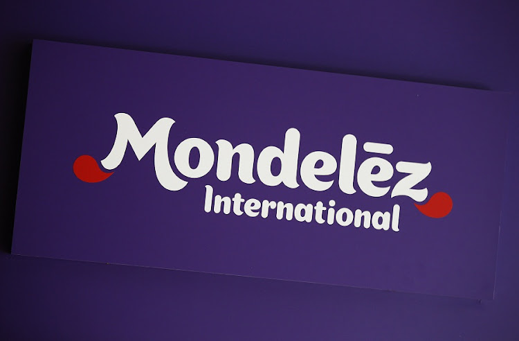 The logo of Mondelez International is pictured at the company's building in Zurich November 14, 2012. Picture: REUTERS/MICHAEL BUHOLZER