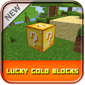Lucky Gold Block Mod Minecraft