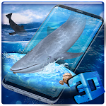 3D Blue Whale / Shark Simulator Theme Icon