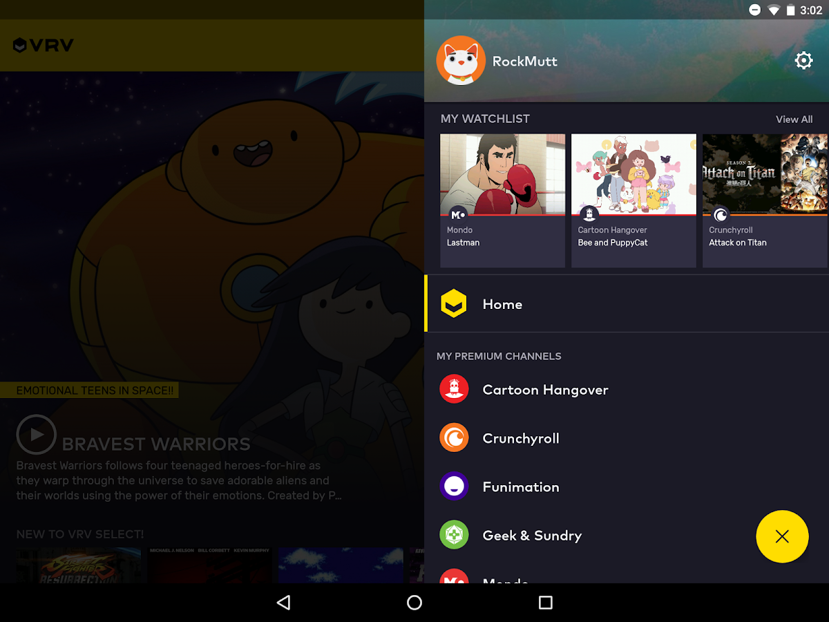 VRV: Anime, game videos & more- screenshot