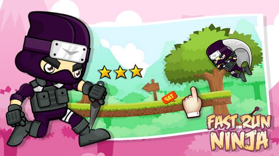 android Fast Run Ninja Screenshot 1