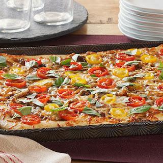 Caramelized Onion & Tomato Pizza