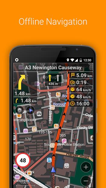 OsmAnd+ Maps & Navigation- screenshot