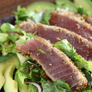 Sesame Seared Ahi Tuna Salad