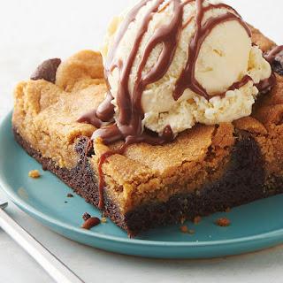 Peanut Butter Cookie Chocolate Dump Cake.