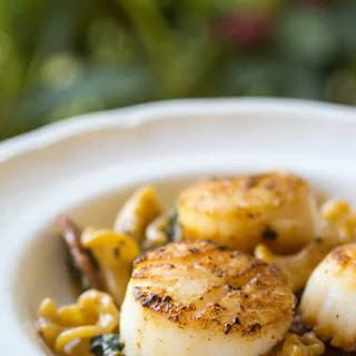 Sea Scallops With Cream Sauce Recipes.