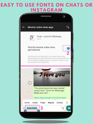 fonts - stylish text & cool fonts screenshot 2