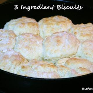 3 Ingredients Biscuits.