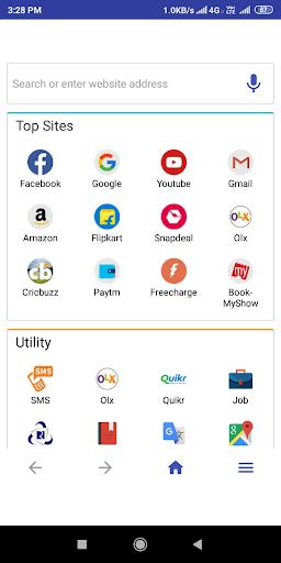 Srj Browser screenshot 1
