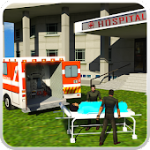 911 Ambulance Rescue Driver 3D