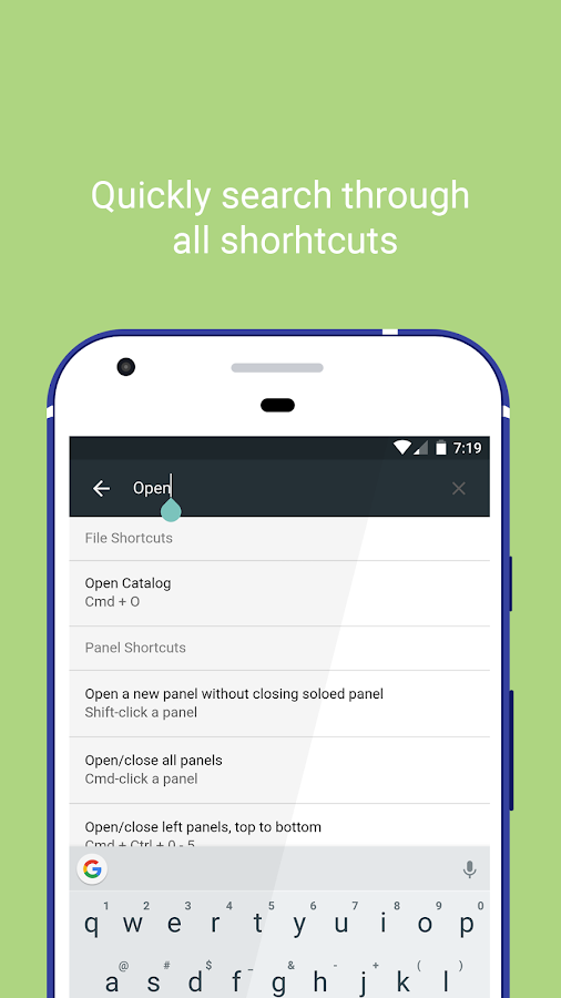 Shortcuts+ (Unreleased)- screenshot