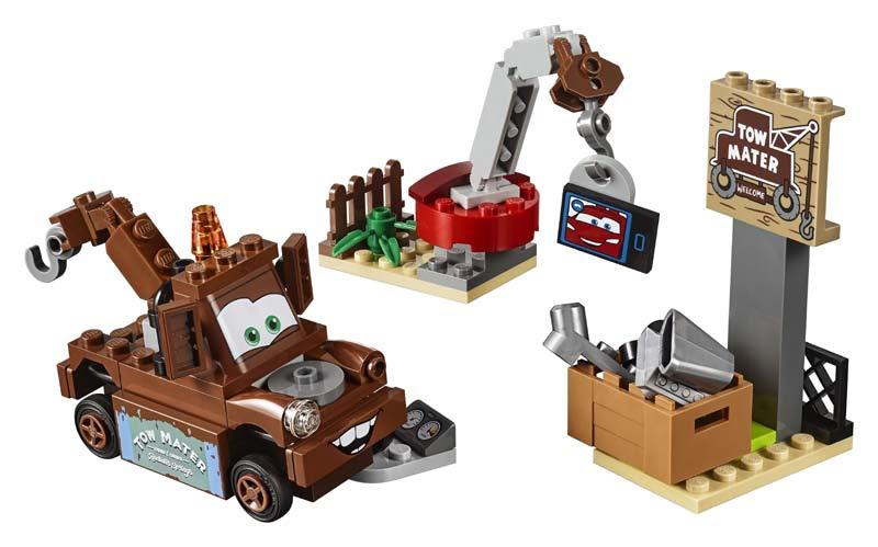 Contenido de Lego® 10733 Desguace de Mate