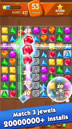 Jewels Classic - Jewel Crush Legend 2.9.6 screenshots 1