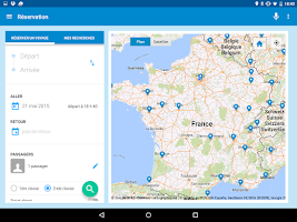 Screenshot of Voyages-SNCF