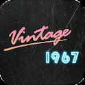 IRetro 1967 - Vintage Grain,Dust,Lightleak Effect icon