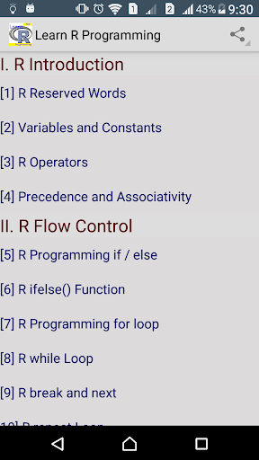 Learn R programming Pro - FULL screenshot 4