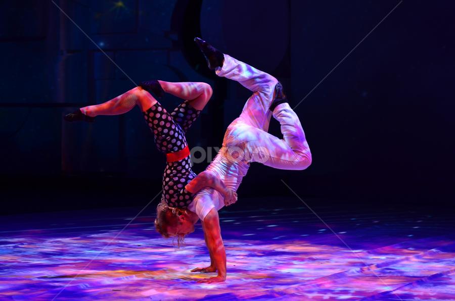 Gymnasts by Mauritz Janeke - News & Events Entertainment ( ferrari world, abu dhabi, entertainment )