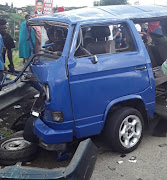 The reader is concerned about the lives of children who commutes to school whose lives are daily placed in danger due to dangerous driving, such as this crash, where a taxi transporting school children crashed into a car near Durban.